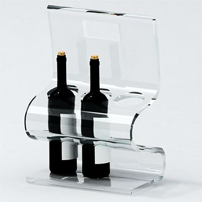 Acrylic display for Wine