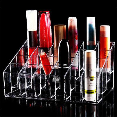 Acrylic display for Lipsticks