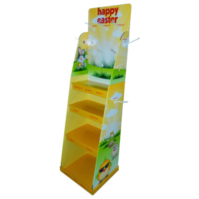 Cardboard display stand for Easter day promotion