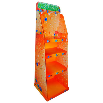 4 tiers cardboard display stand for Toys Babbarific brand