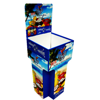 Dumpbin display stand