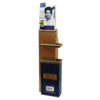 China Eye Catching POP Cardboard Display Racks