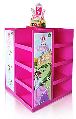 Store Advertising Cardboard Pallet Display Stands Distributors