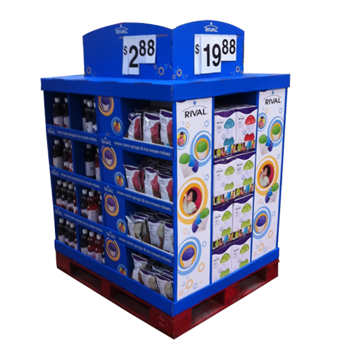 Customized Free Standing Cardboard Display Units Manufacturers