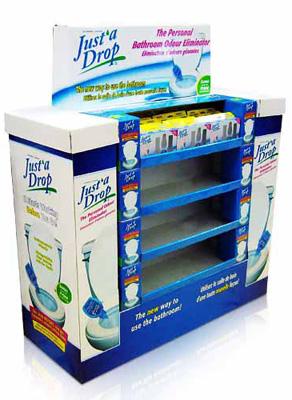 Supermarket Promotion Cardboard Pallet Display Rack New Zealand