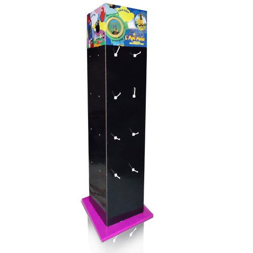 Store Floor Display Stand With Plastic Hooks Unique Cardboard Display Stands Uk