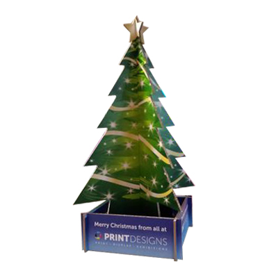 Corrugated Cardboard Christmas Tree Stand