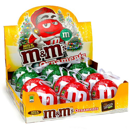 Cardboard Countertop Display Box for M&M Chocolates