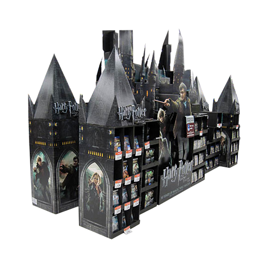 Custom Cardboard Display for Popula Movies