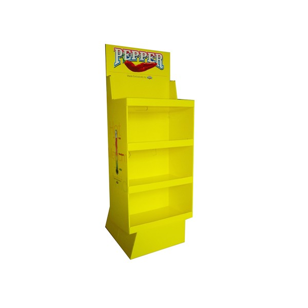 Supermarket Display Shelf in 4C Offset Printing